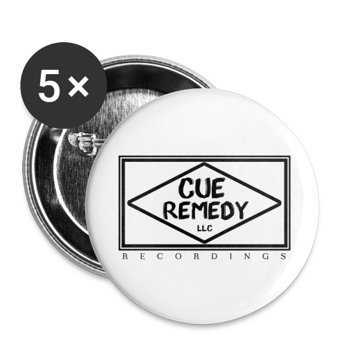 Cue Remedy 5-Pack Buttons - Large Buttons