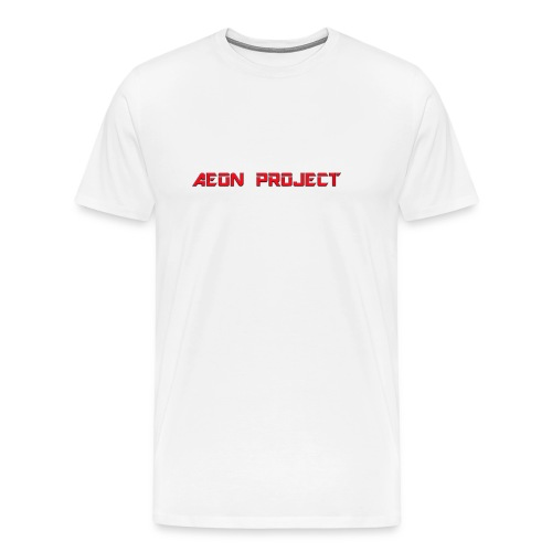 Aeon Project Text - Men's Premium T-Shirt