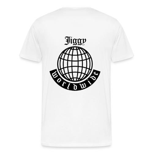 JIGGY WORLDWIDE TEE - Men's Premium T-Shirt