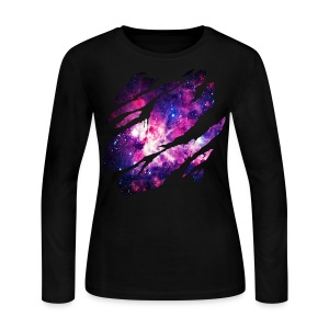 Deep Space Inside - Women's Long Sleeve Jersey T-Shirt