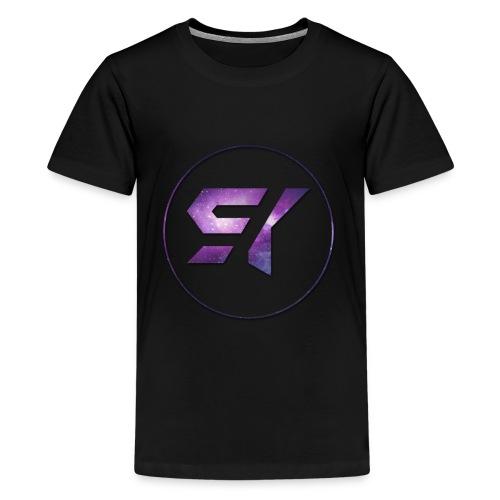 ItzShiny Kids T Shirt  (Black) - Kids' Premium T-Shirt