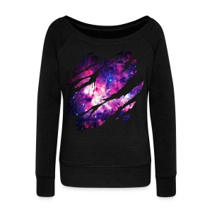 Deep Space Inside - Women's Wideneck Sweatshirt