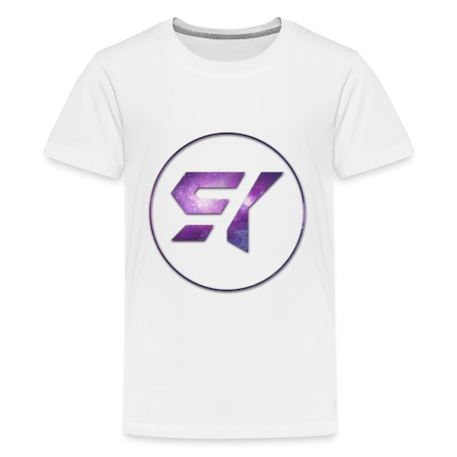 ItzShiny Kids T Shirt (White) - Kids' Premium T-Shirt