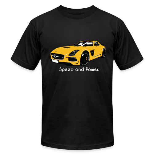Speed and Power - Men's Fine Jersey T-Shirt
