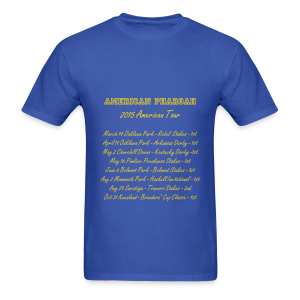 AMERICAN PHAROAH - 2015 American Tour (men's) - Men's T-Shirt