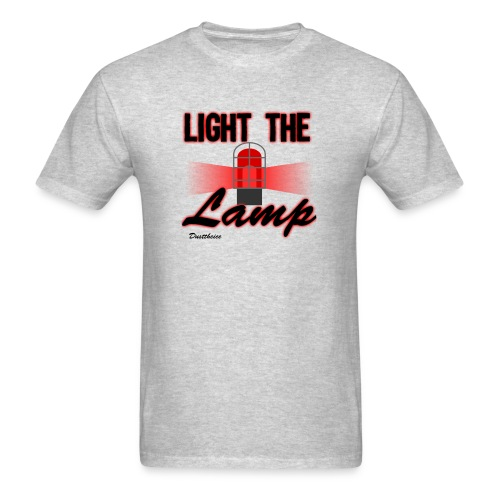 Light the lamp t-shirt - Men's T-Shirt