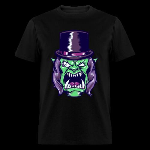 Doron Angry Male Shirt (Purple) - Men's T-Shirt