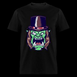 Doron Angry Male Shirt (Brown) - Men's T-Shirt