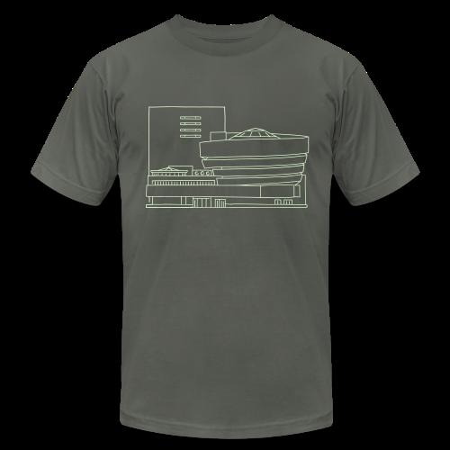 Guggenheim Museum New York - Men's Fine Jersey T-Shirt