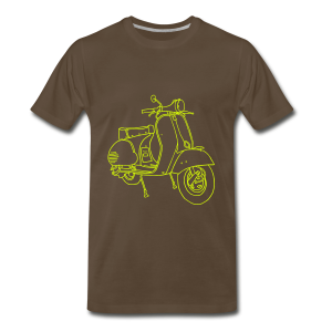 Motor scooter - Men's Premium T-Shirt