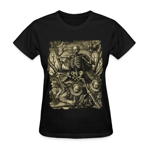 DEATH AND ROYAL TWINS - Women's T-Shirt