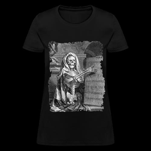 MEMENTO MORI I B&W - Women's T-Shirt