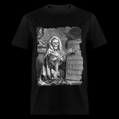 MEMENTO MORI I B&W - Men's T-Shirt