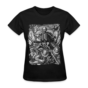 DEATH AND ROYAL TWINS B&W - Women's T-Shirt