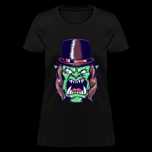 Doron Angry Female Shirt (Brown) - Women's T-Shirt