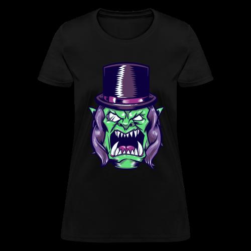 Doron Angry Female Shirt (Purple) - Women's T-Shirt