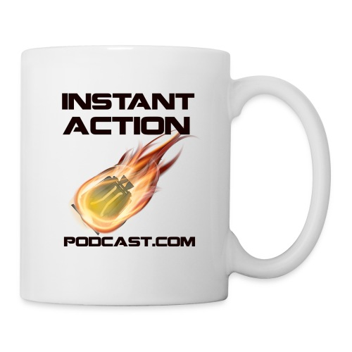 Official Instant Action Podcast Coffee Mug - Coffee/Tea Mug