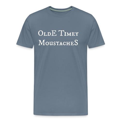 Olde Timey Moustache - Gents - Men's Premium T-Shirt