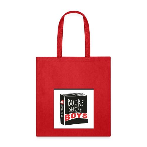 #BooksBeforeBoys Tote Bag - Tote Bag