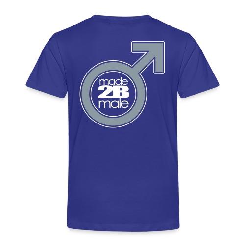 Boys Toddler Made Male - Toddler Premium T-Shirt