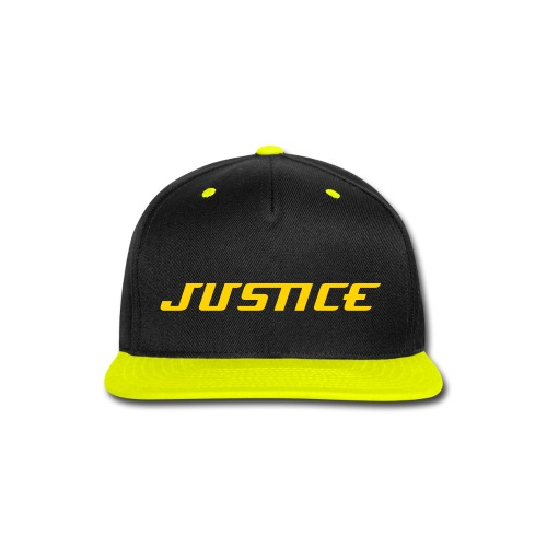 Justice Brand- Justice Baseball Cap (Yellow-Black) - Snap-back Baseball Cap