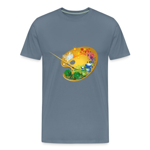 Teacher Paint - Men's Premium T-Shirt