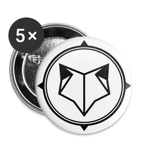 FOX pin! - Small Buttons