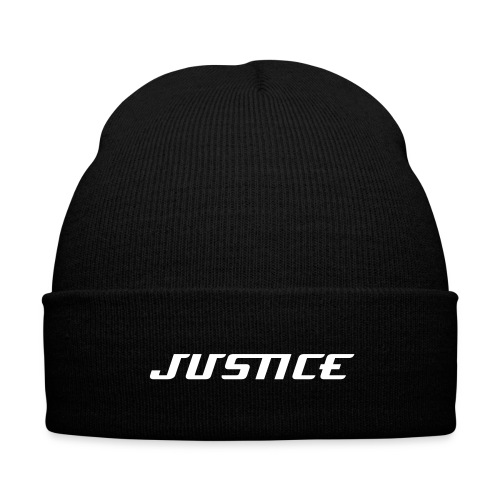 Justice Brand- Justice Knit Cap - Knit Cap with Cuff Print
