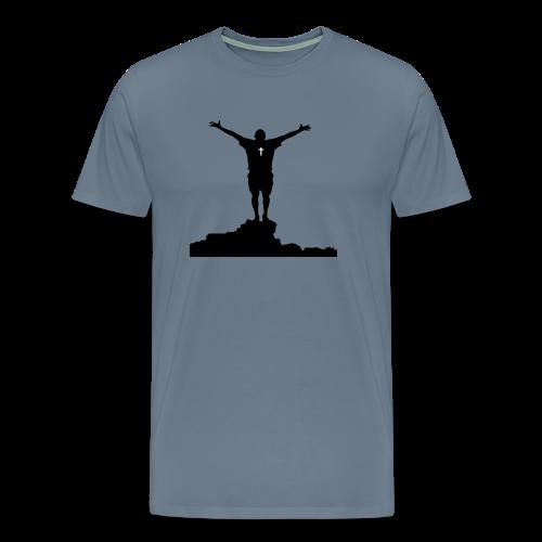 Worship Man - Men's Premium T-Shirt