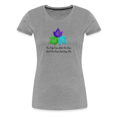 Women's Premium T-Shirt - Heather gray t-shirt