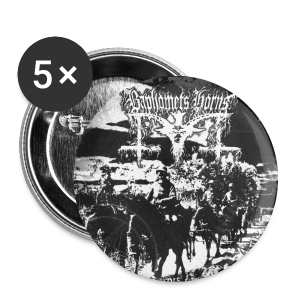 Baphomets Horns - Perpetrators of Genocide  - Small Buttons