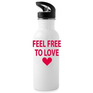 Feel free to love Sportswear - Water Bottle