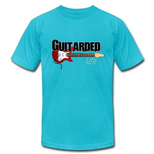 Guitarded Life Electric T-Shirt - Men's Fine Jersey T-Shirt