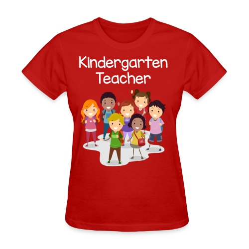 Kindergarten Teacher T-shirt!!!! - Women's T-Shirt