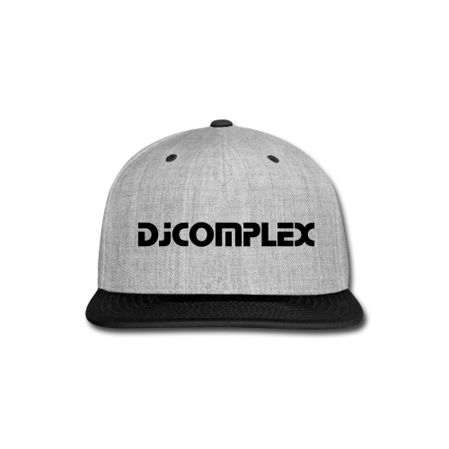 Complex Hat  - Snap-back Baseball Cap