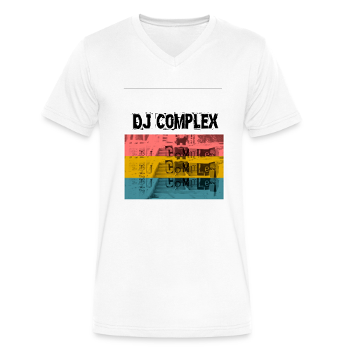 Complex t-shirt - Men's V-Neck T-Shirt by Canvas