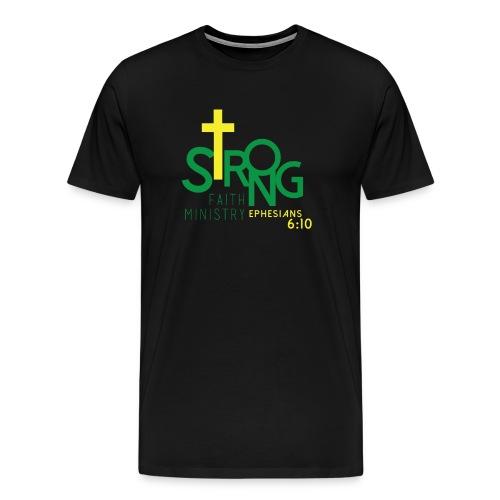 Men's Strong Faith Heritage T-Shirt - Men's Premium T-Shirt