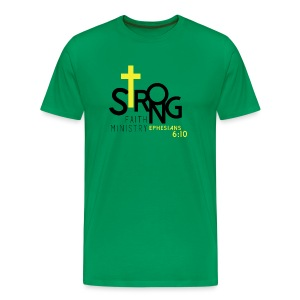 Men's Strong Faith Heritage T-Shirt - Men's Premium T-Shirt
