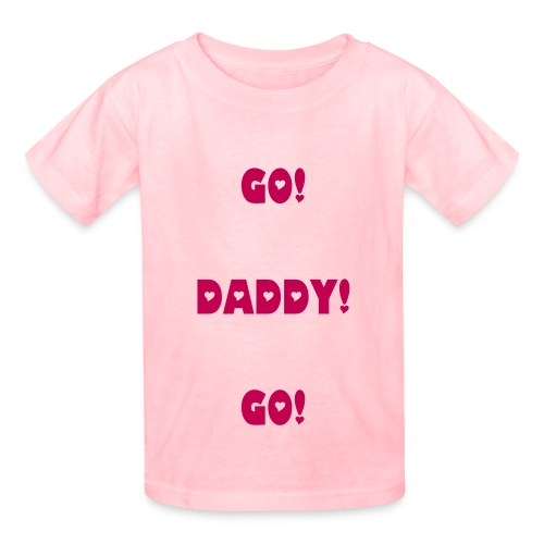 Go! Daddy! Go! - Kids' T-Shirt
