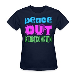 Ladies Peace Out K - Women's T-Shirt