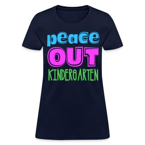 Ladies Peace Out K - Women's T-Shirt