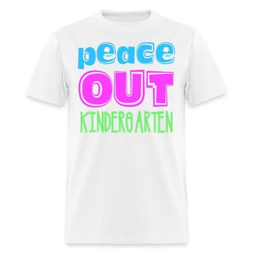 MENs Peace Out K - Men's T-Shirt