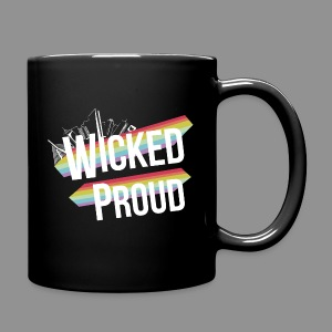 Full Color Mug - lgbt,gay pride,gay,Wicked Proud,Boston Pride