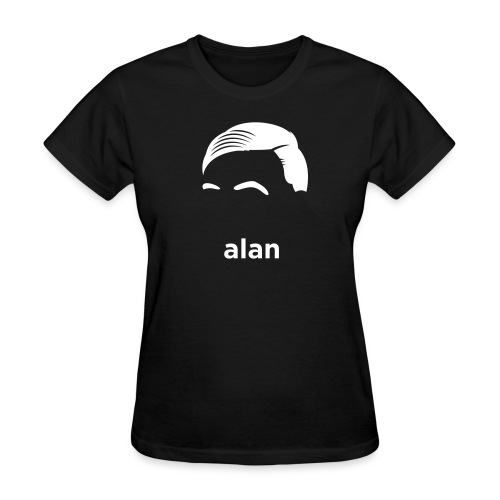 [alan-turing] - Women's T-Shirt