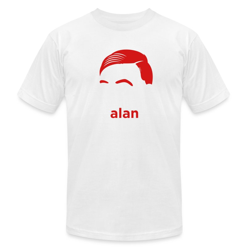 [alan-turing] - Men's T-Shirt by American Apparel