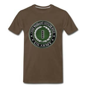 Chief Warrant Officer Four (CW4) Rank Insignia  - Men's Premium T-Shirt