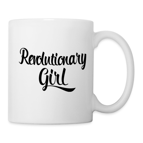 Revolutionary Girl White CC Latte Mug - Coffee/Tea Mug