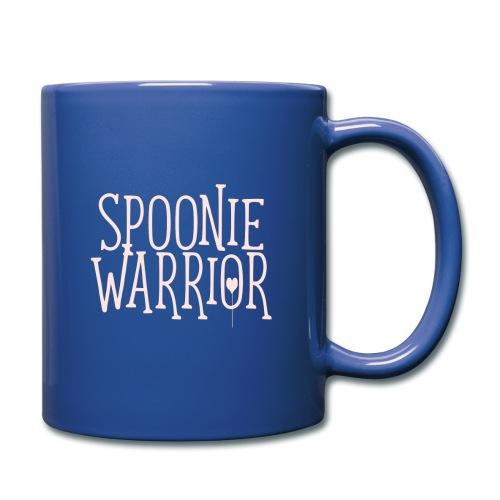 Spoonie Warrior CC Latte Mug - Full Color Mug