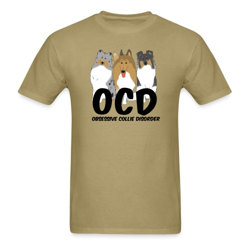 OCD - Mens T-shirt - Men's T-Shirt