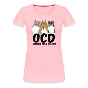 OCD - Womens Plus Size T-shirt - Women's Premium T-Shirt